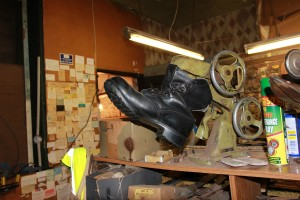 As New Shoe Repairs - machine