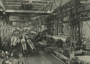 View of one of the Heavy Gun Machine Shops at the Elswick Works (TWAM ref. 5484)