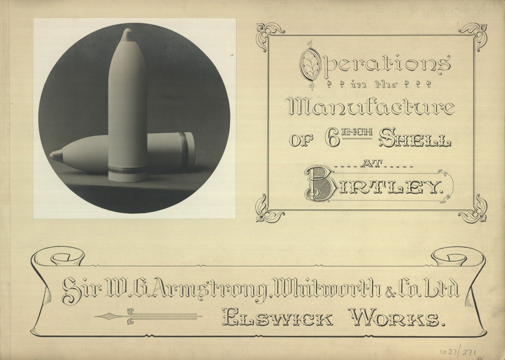 Introductory page to the album, 1916 (TWAM ref. 1027/271)