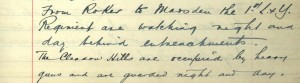 School log book entry, 10 August 1914 (TWAM ref. E.WH2/2/3)