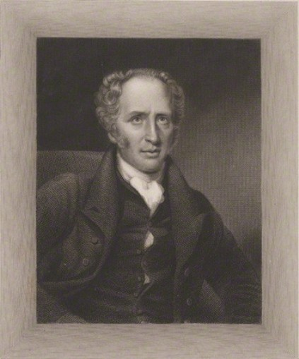 The finished engraving of John Hodgson. Copyright: National Portrait Gallery, London