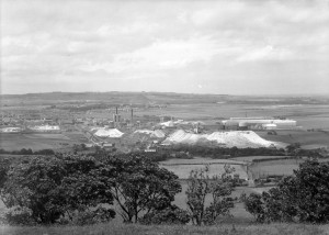 View of Washington New Town from Penshaw Hill, May 1965 (TWAM ref. DT.TUR/2/36063AP).