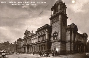 Laing and Free Library c1920 a © Newcastle City - Copy
