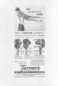 Turners advert, 1962 (TWAM ref. DT.TUR/2/29481).