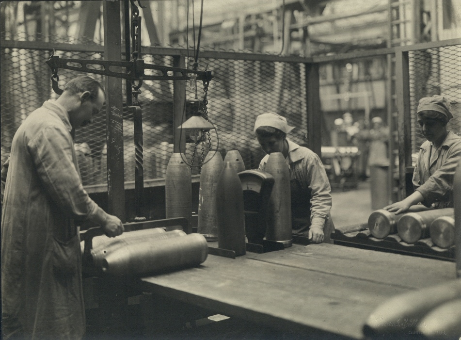 Final expection of shells a month before the end of WW1.
