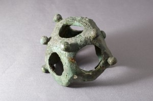 A Roman bronze dodecahedron from South Shields.
