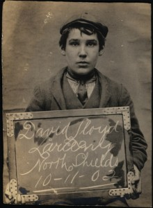 Mugshot of David Lloyd (TWAM ref. DX1388/1).