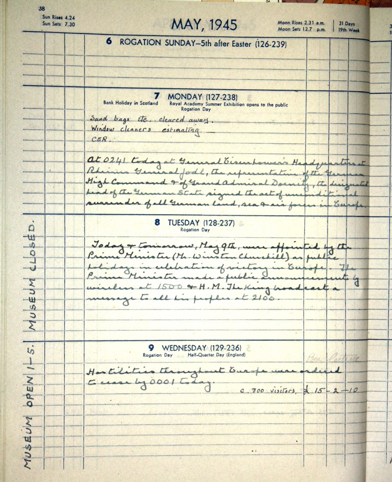 Curator T Russell Goddard's diary