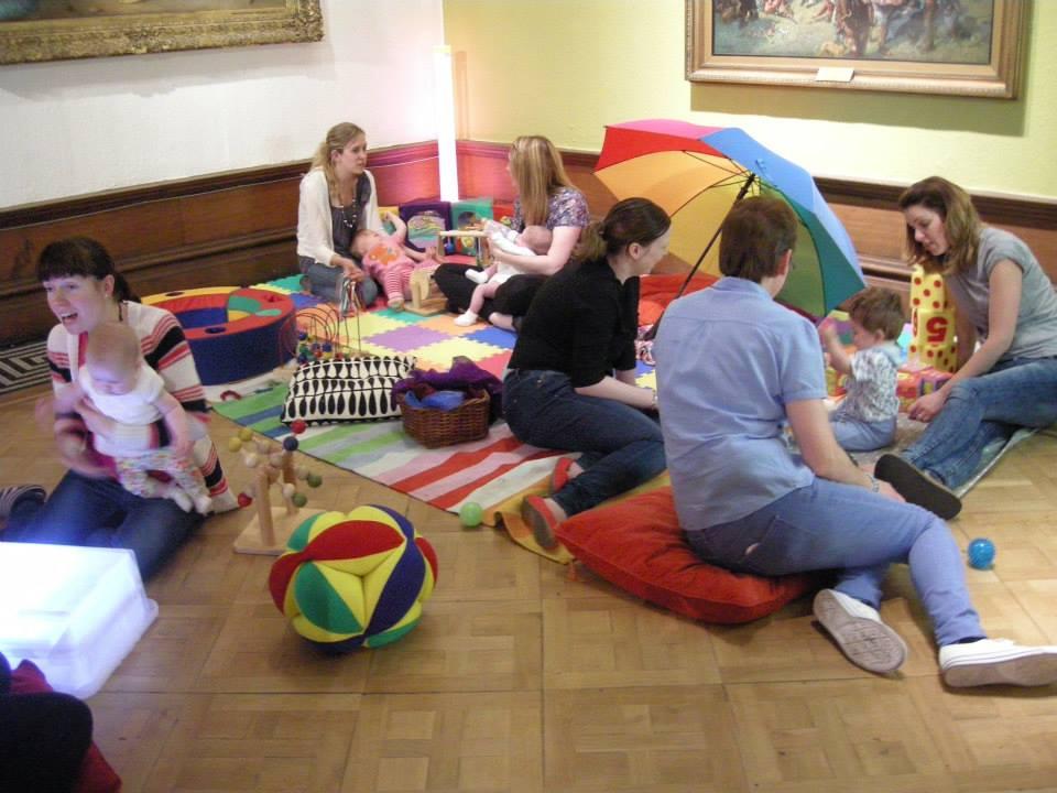 Creative Baby! sensory play space