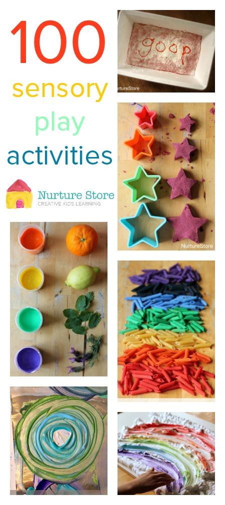 Nurture Store sensory play activities