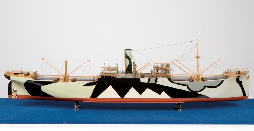Builders model of ss Hindustan 1917
