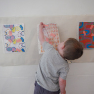 Toddlers' Choice at the Whitworth