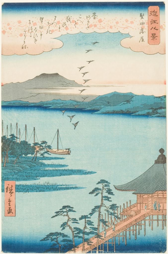 Japanese woodblock print, 1800s