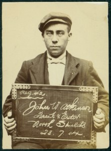 Mugshot of John William Atkinson