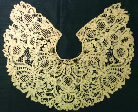 Tape lace collar, ref -TWCMS_H1280
