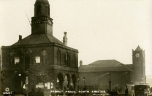 TWCMS: 2001.4958 A photograph from the South Shields Museum & Art Gallery collection of Market Place in South Shields