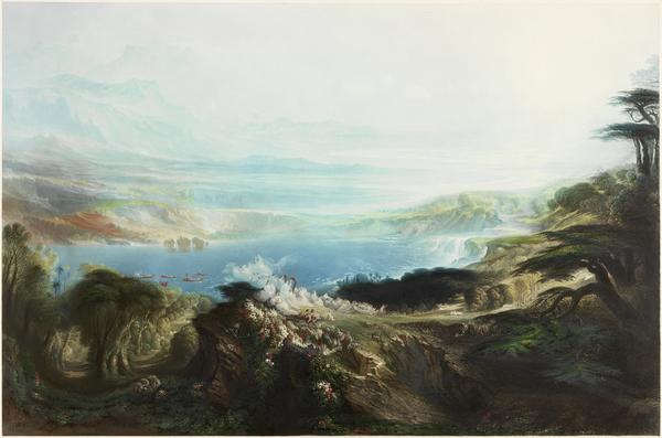 G12685 print The Plains of Heaven, Martin John 1857