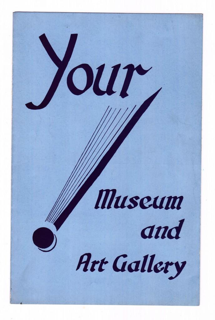 Saltwell Park Museum Shipley Brochure 1955