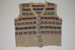 childs waistcoat from the 1940s