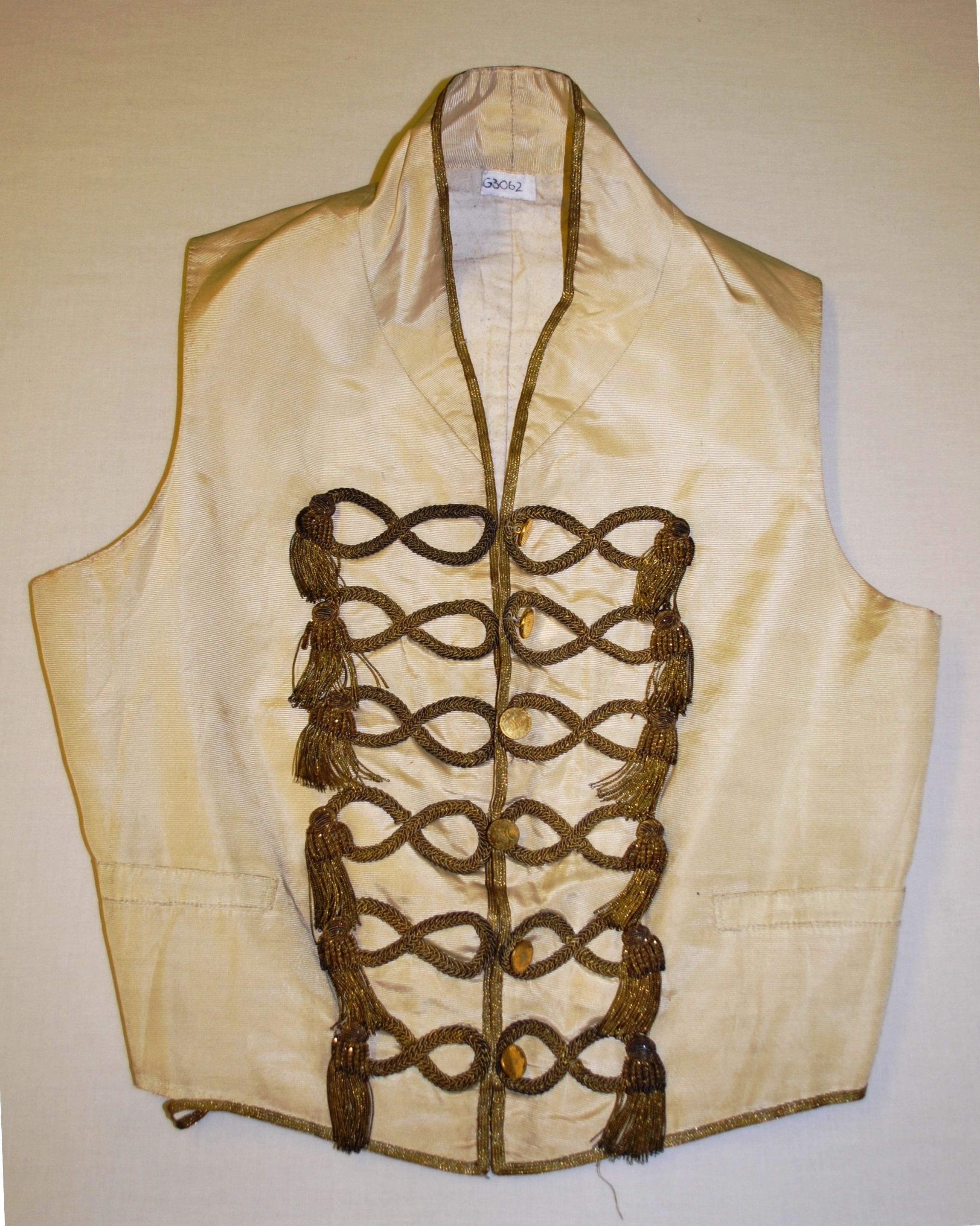 A waistcoat from 1830-1870