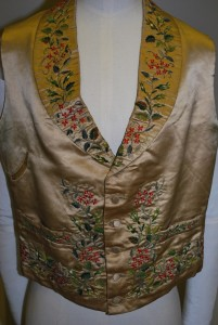 A waistcoat dating from 1820-1840
