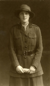 Miss K.M. Hancock during World War I