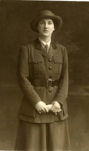 Miss M. Hancock during World War I