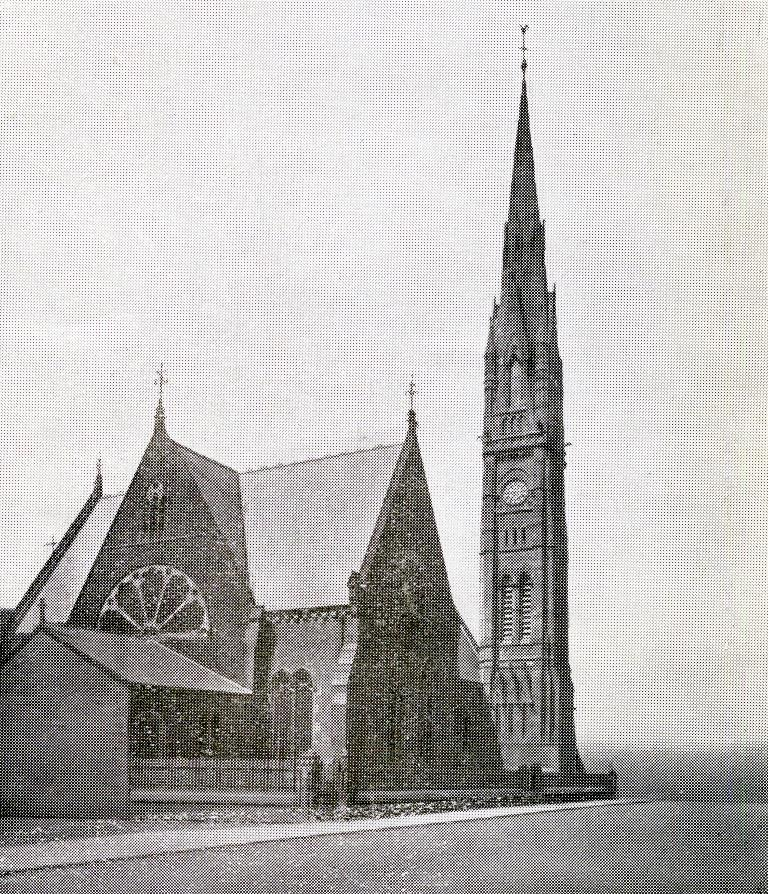 Resized St Andrews Hebburn exterior about 1923