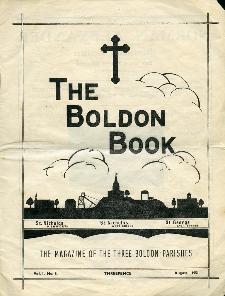 The Boldon Book parish magazine, 1951
