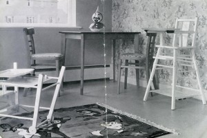Interior view of West Boldon Residential Nursery, 1961
