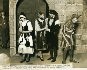A photograph of members of Boldon Amateur Operatic Society, about late 1920s