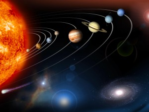 The Earth, Sun, planets, stars and galaxies are all involved in an intricate pattern of motion.