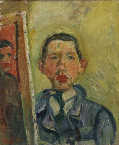 Soutine self-portrait