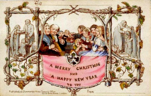 Henry Cole Christmas card 1843