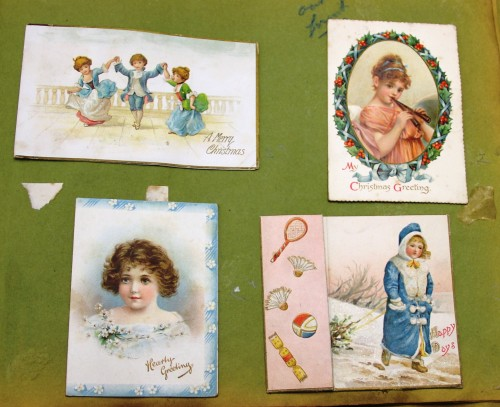 Late Victorian/Early Edwardian Christmas card TWCMS : 2011.775