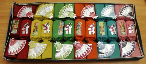 Box of Christmas Crackers circa 1957/58 TWCMS : 2007.3942