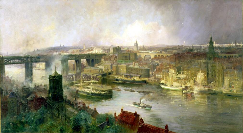 G12962. Lund, Newcastle from Gateshead