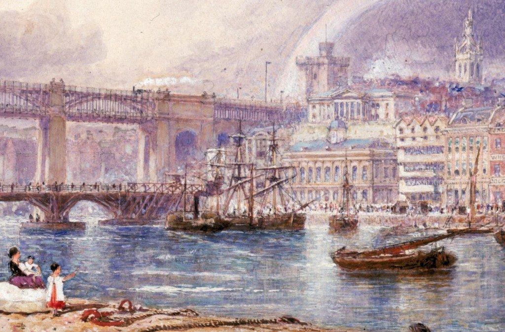 GH Andrews, View of Newcastle