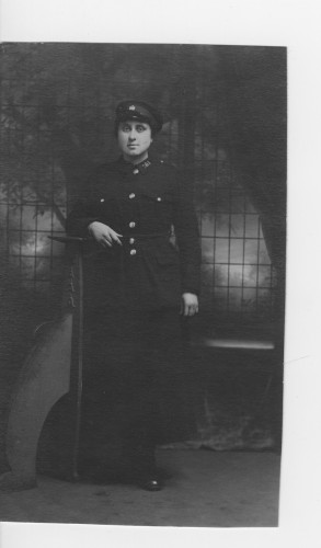 First World War Tram Conductress Mrs Poole