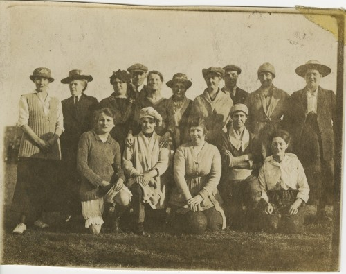 1918 ladies football team