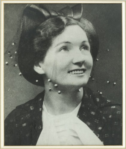 Catherine Cookson as a young woman