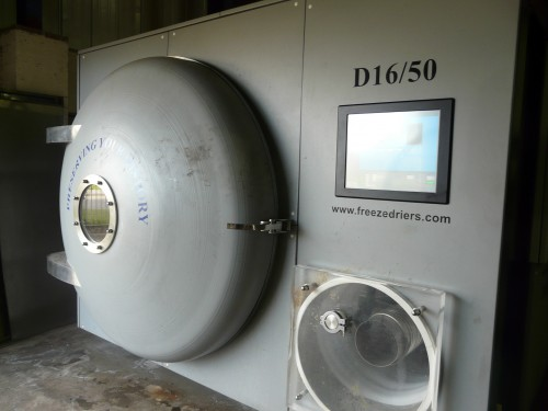 5m Freeze Drier at York Archaeological Trust