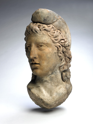 Mithras from the Walbrook Mithraeum. Museum of London.