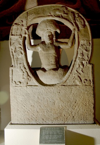Mithras being born from the Cosmic Egg.