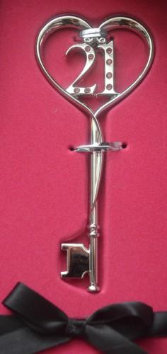 My 21st Birthday Key