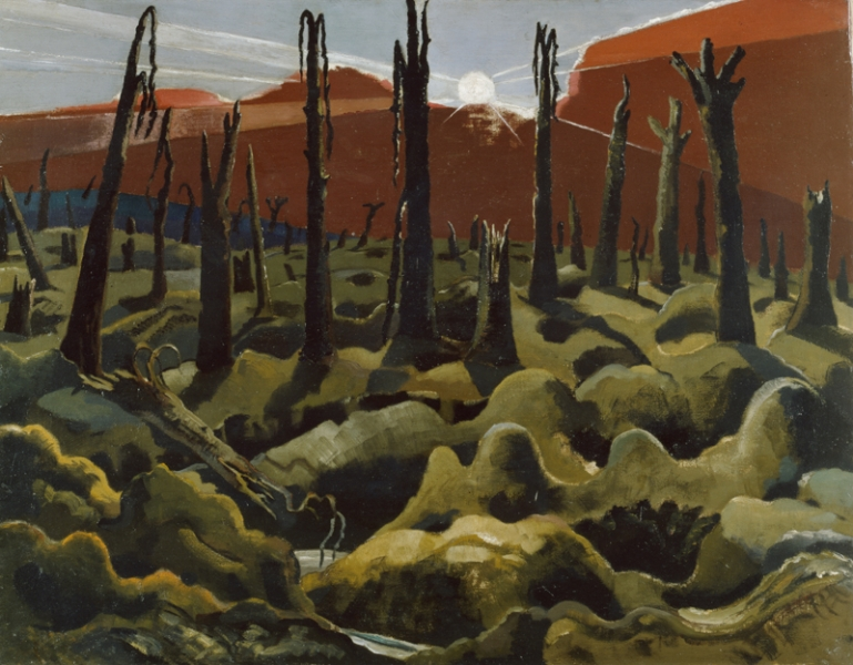 Paul Nash, 'We are making a new world', 1918, © IWM (Art.IWM ART 1146) http://www.iwm.org.uk/collections/item/object/20070