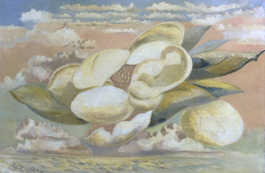 'Flight of the Magnolia' by Paul Nash 1889-1946 Tate, London. Photo © Tate, London 2016