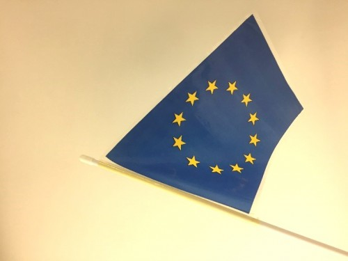 EU Flag from the Discovery Museum collections