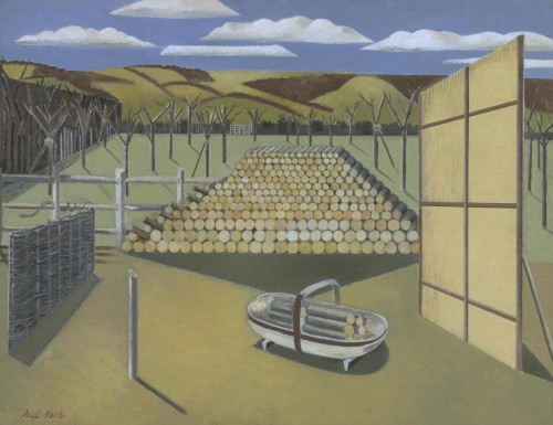 'Landscape at Iden' 1929 by Paul Nash, Tate, London Photo © Tate, London 2016