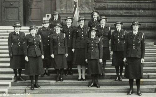WRVS volunteers, South Shields 1945